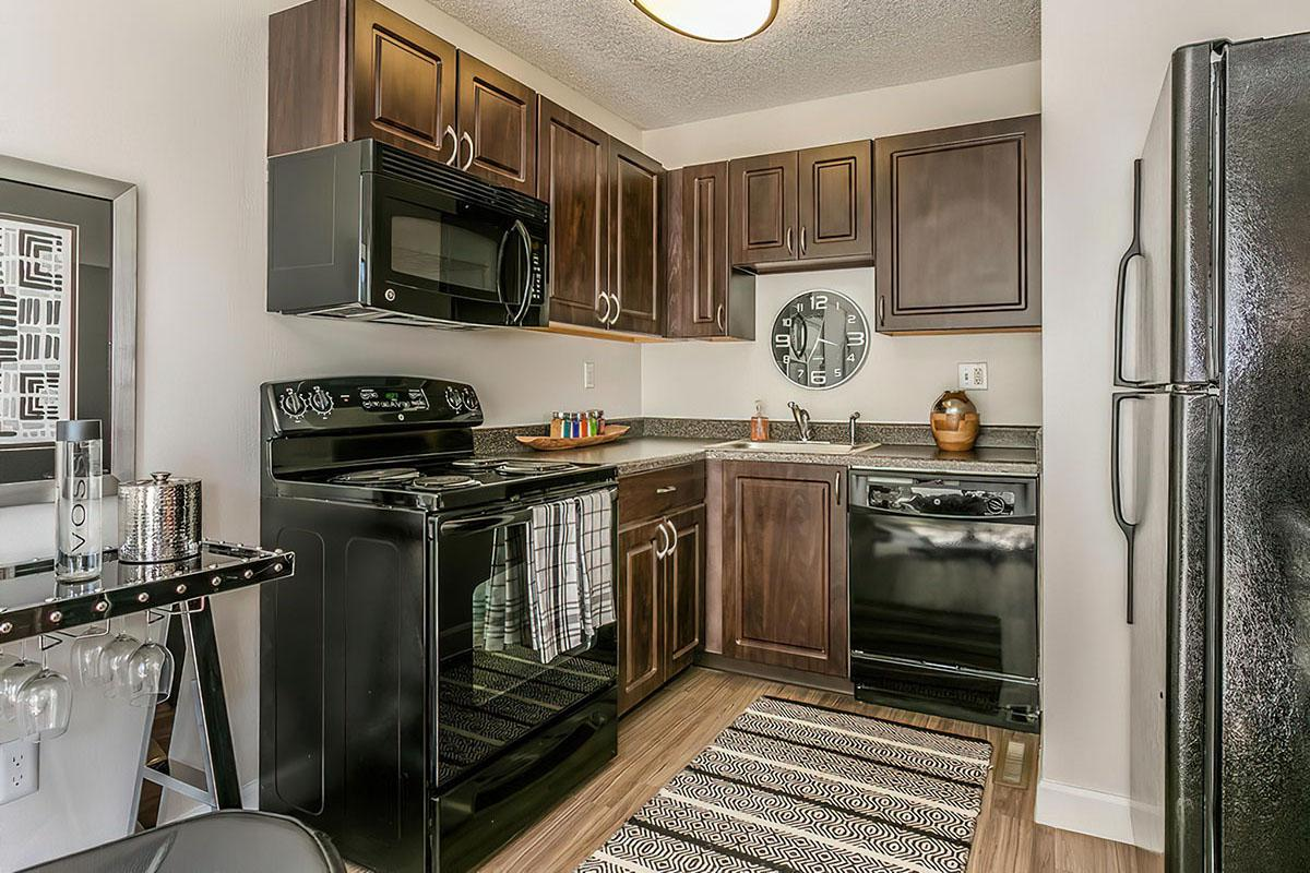 Kitchen at Stratus Townhomes, Apartments in  Westminster, CO