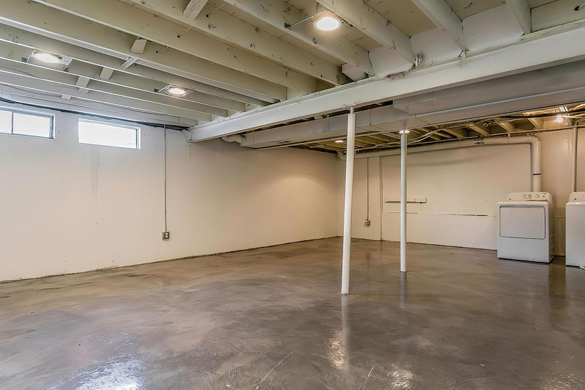 Basement at Stratus Townhomes, Apartments in  Westminster, CO