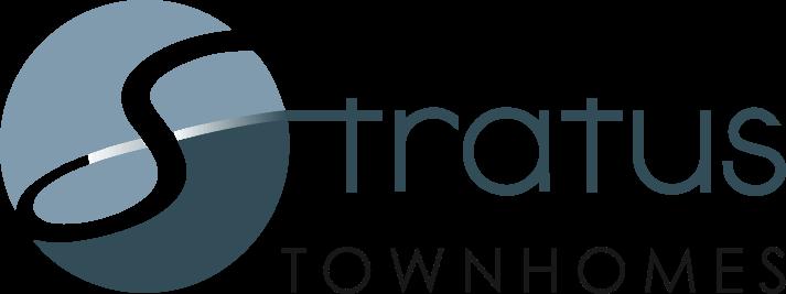 Stratus Townhomes Logo
