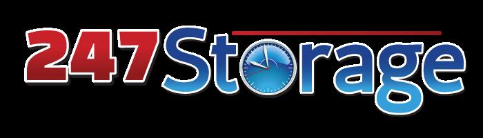 247 Storage logo