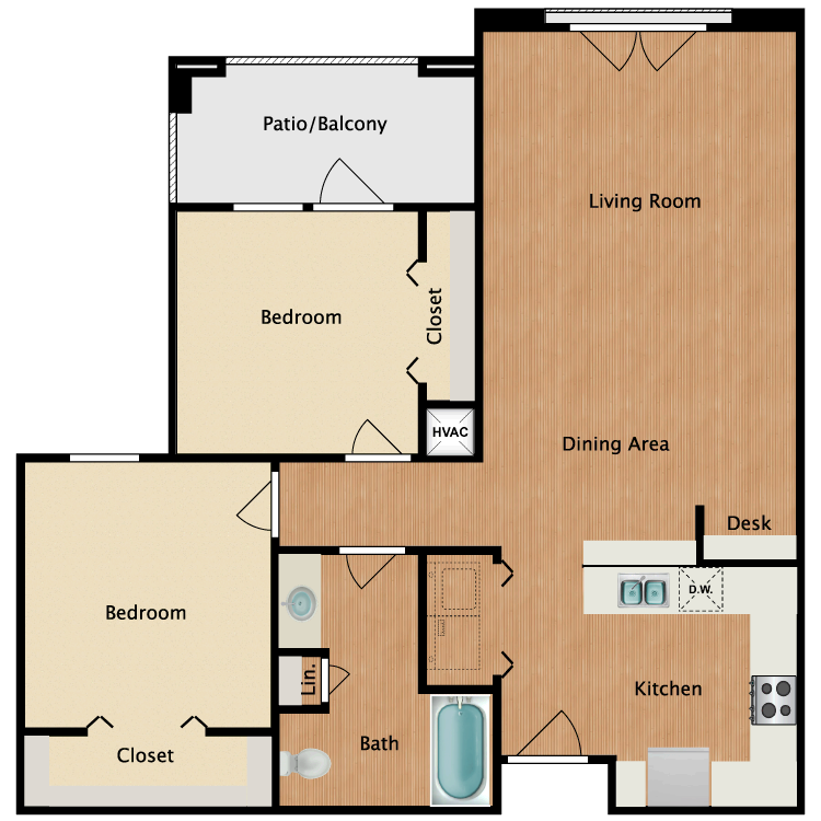 Floor plan image of Sienna