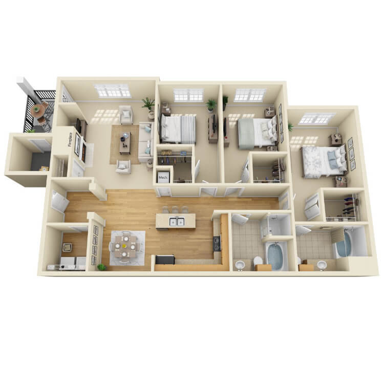 Floor plan image of The Pearl