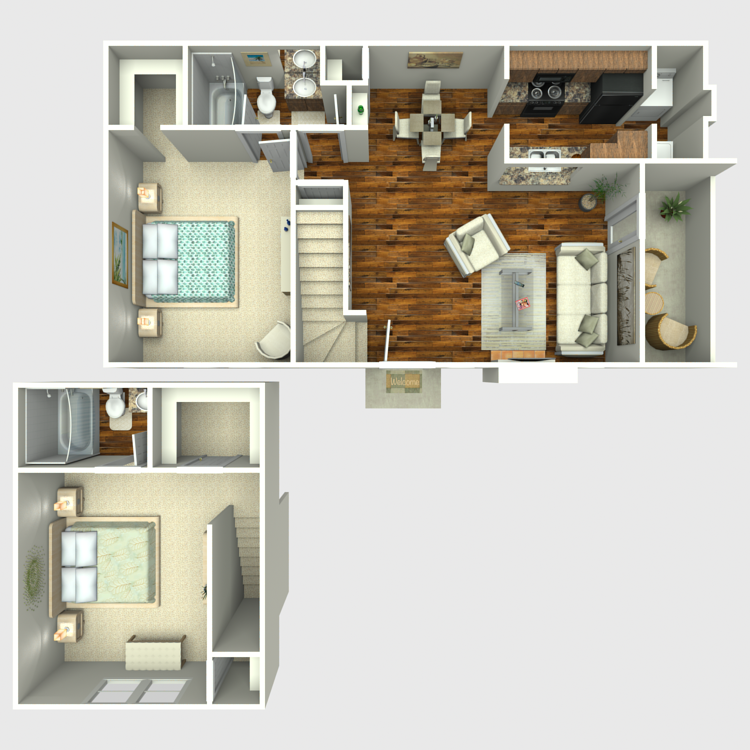 Floor plan image of Golden Oak
