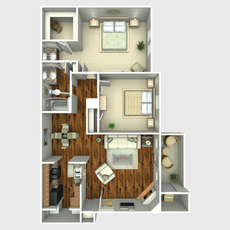 Floor plan image of Liberty Oak