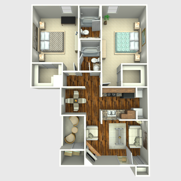 Floor plan image of Mountain Oak