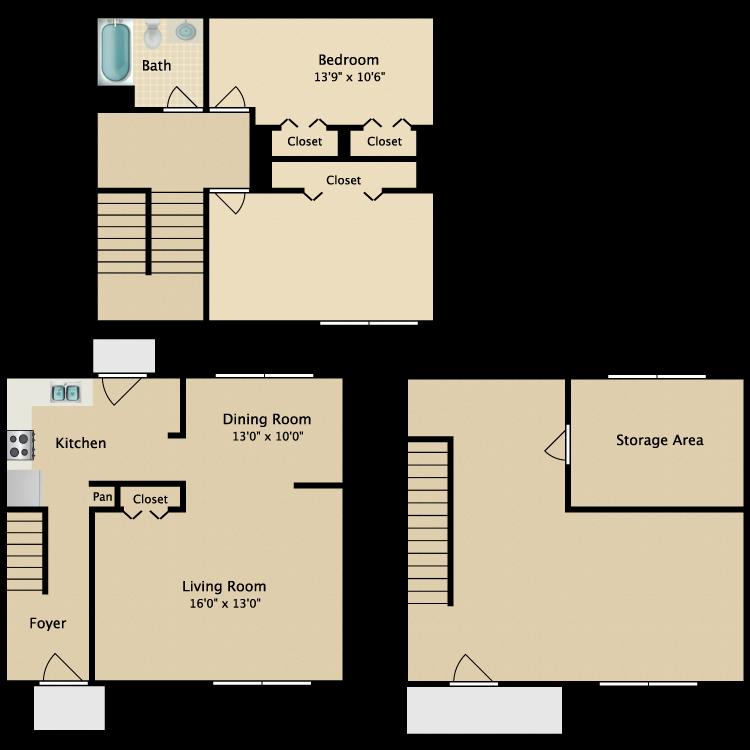 Floor plan image of Beachwood