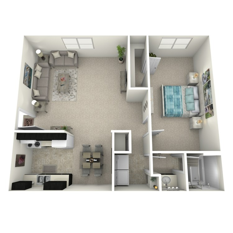 Floor plan image of 1NFPU