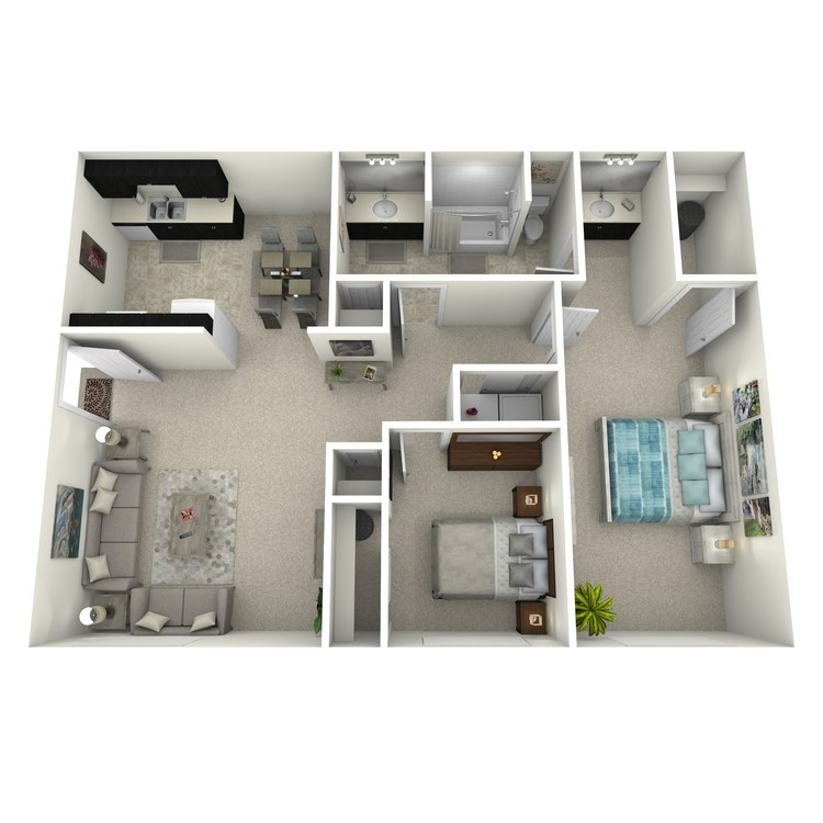 Floor plan image of 2WFPU