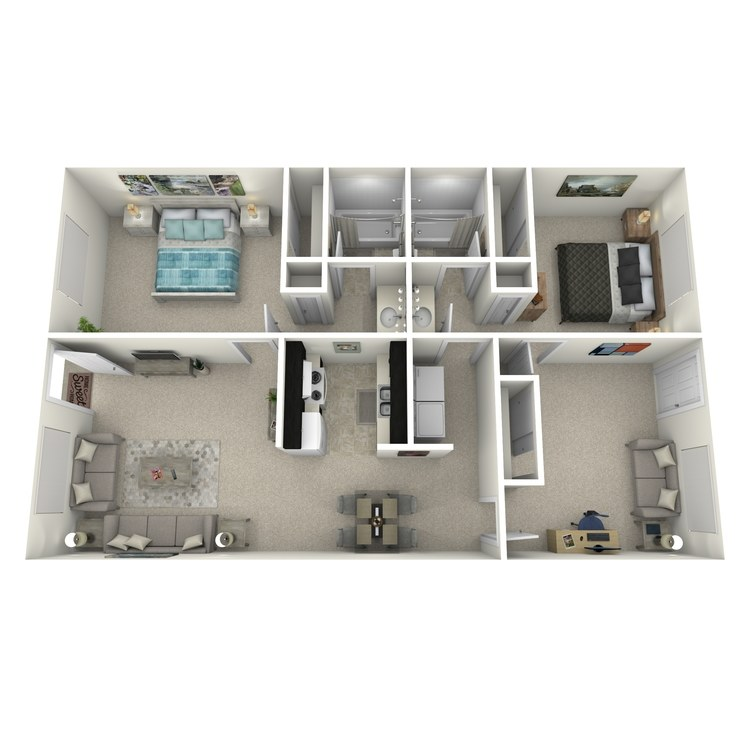 Floor plan image of CONVU