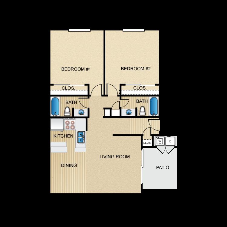 Floor plan image of The San Marco