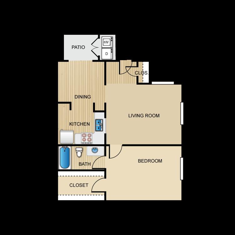 Floor plan image of The Palazzo