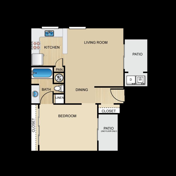 Floor plan image of The Rialto