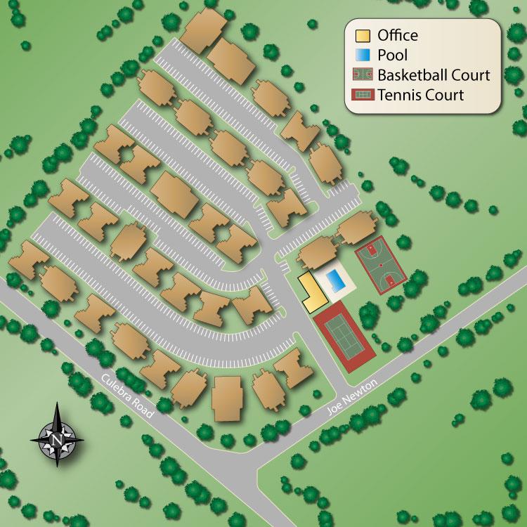 Tuscany Hills SIte Map