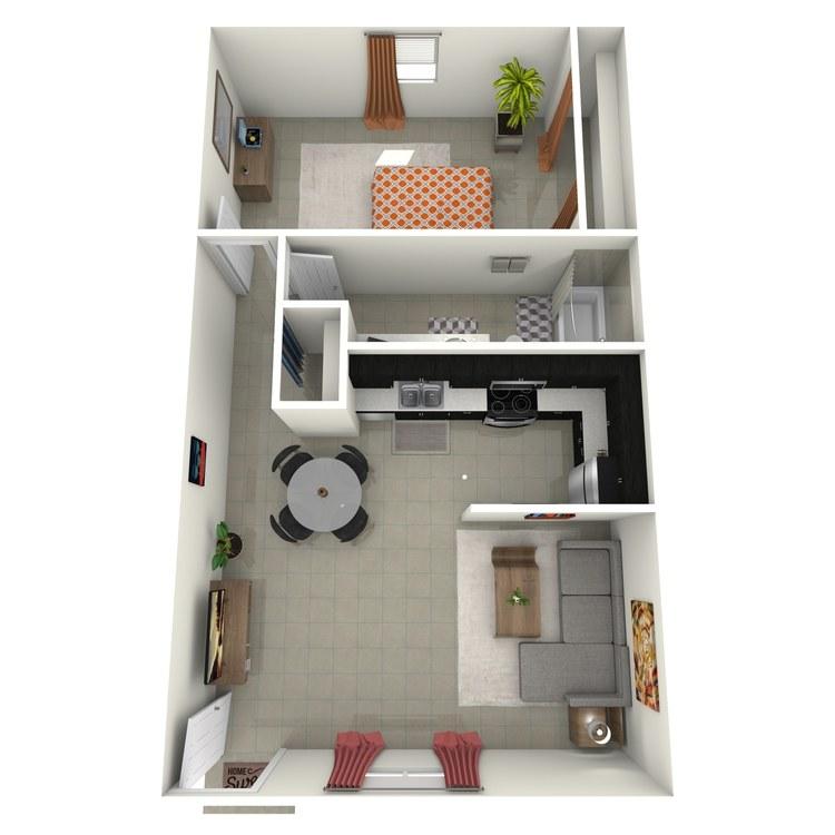 Floor plan image of The Austin