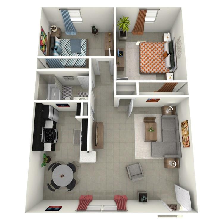 Floor plan image of The Madison