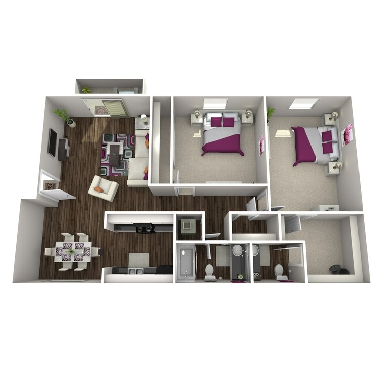 Floor plan image of Blueberry