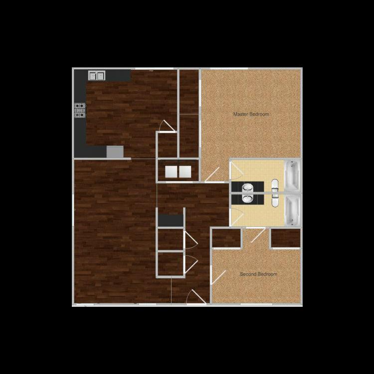 Floor plan image of Bear Creek Park- Zion