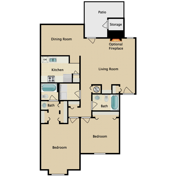 Floor plan image of Appaloosa