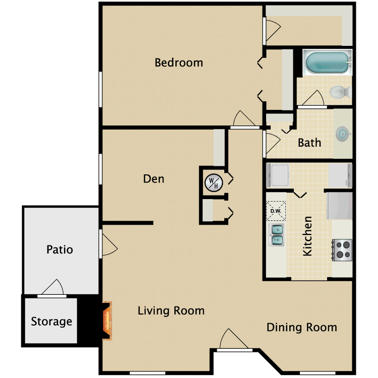 Floor plan image of Arabian