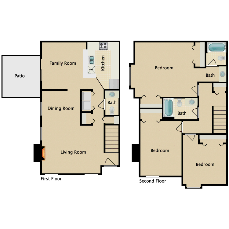 Floor plan image of Morgan
