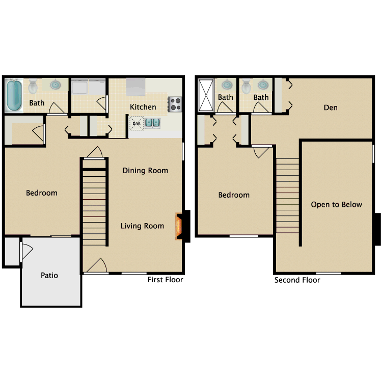 Floor plan image of Welsh