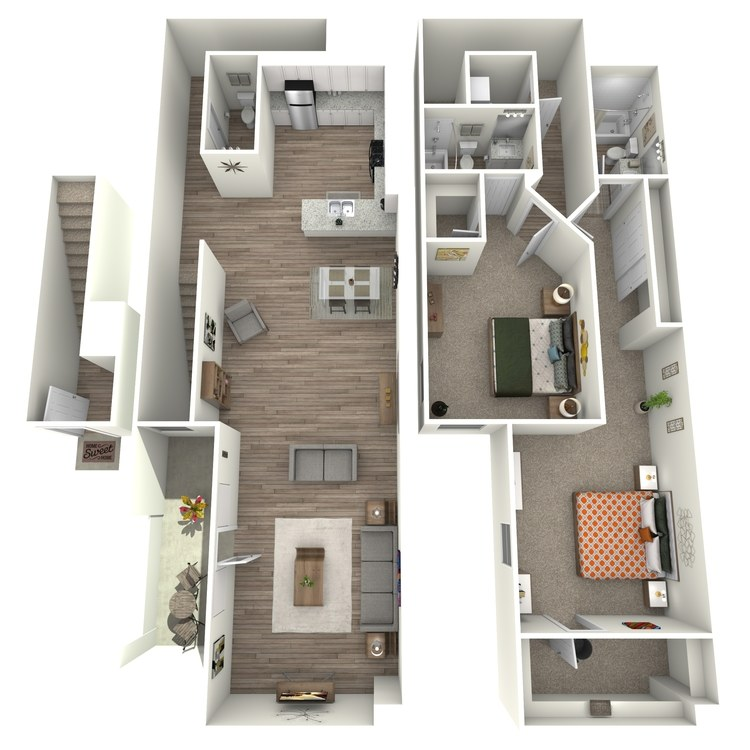 Floor plan image of Plan 4