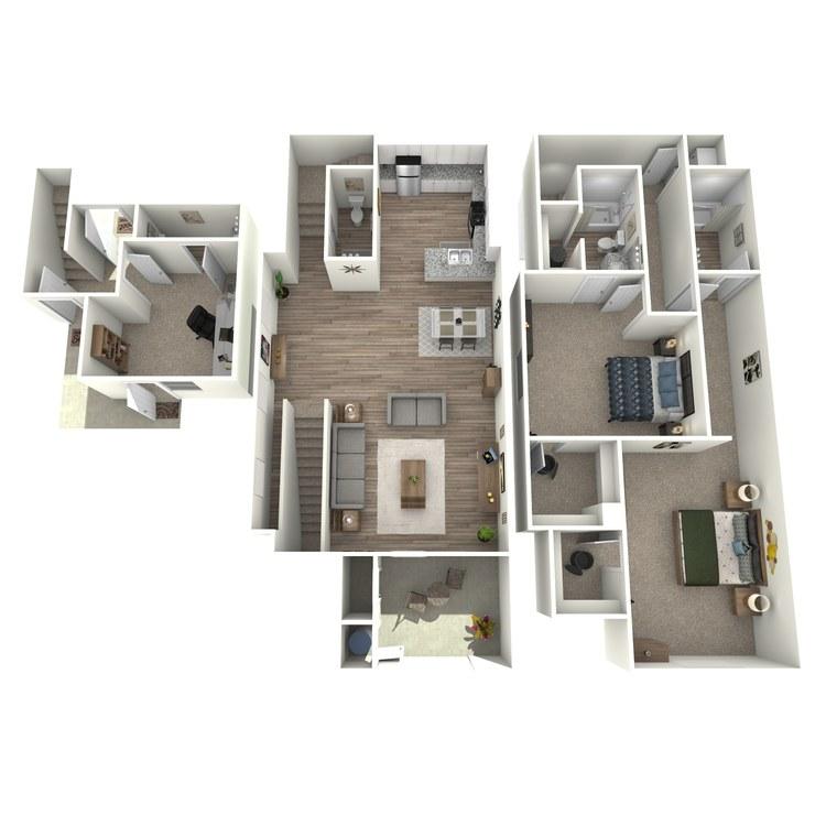 Floor plan image of Plan 2