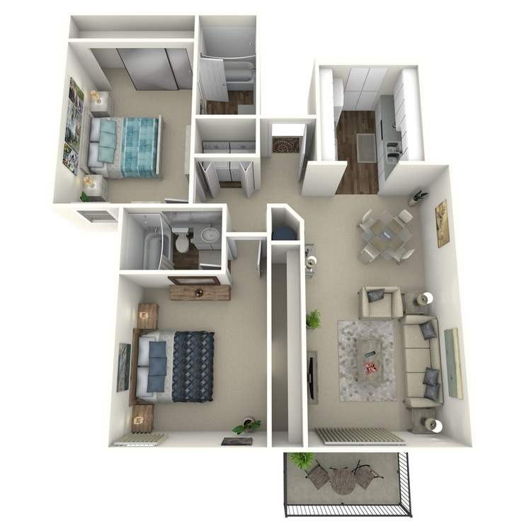 Floor plan image of Santa Fe
