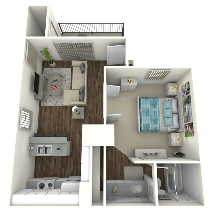 Floor plan image of Navaho