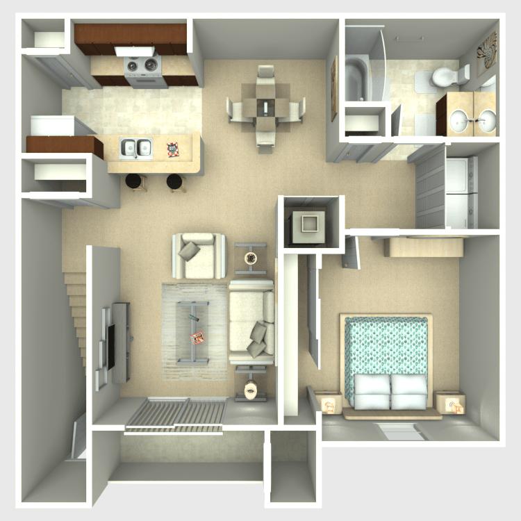 Aspen floor plan image
