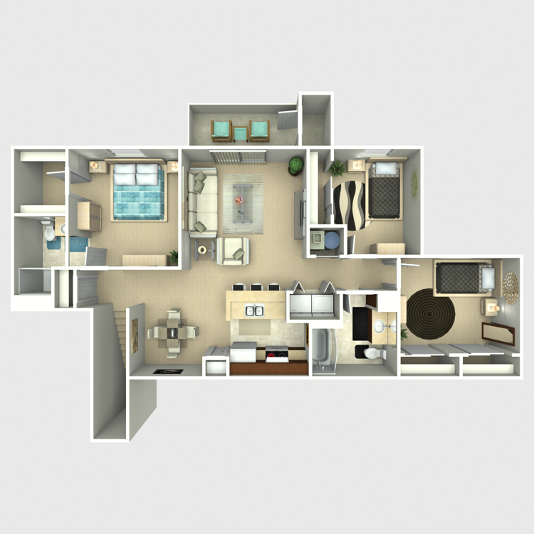 Willow floor plan image