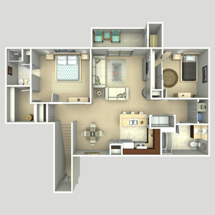 Sequoia floor plan image