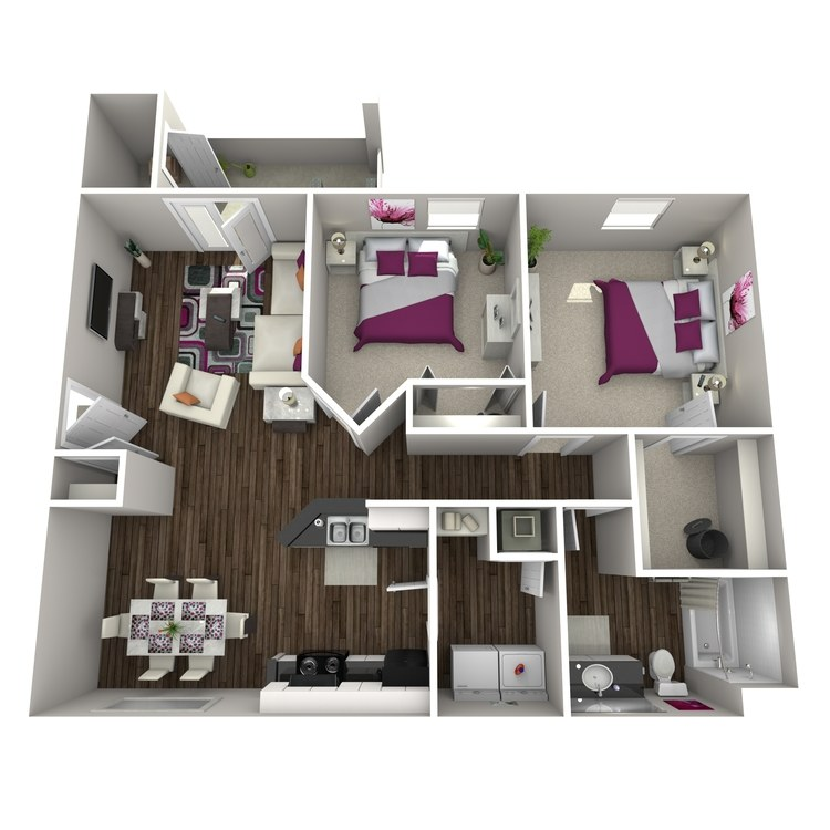 Floor plan image of Blueberry