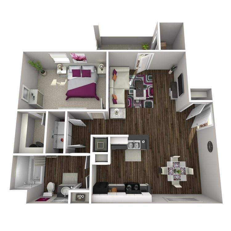 Floor plan image of Allium
