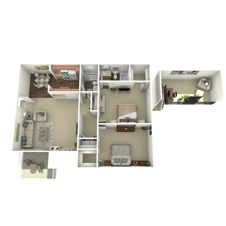Floor plan image of B6L