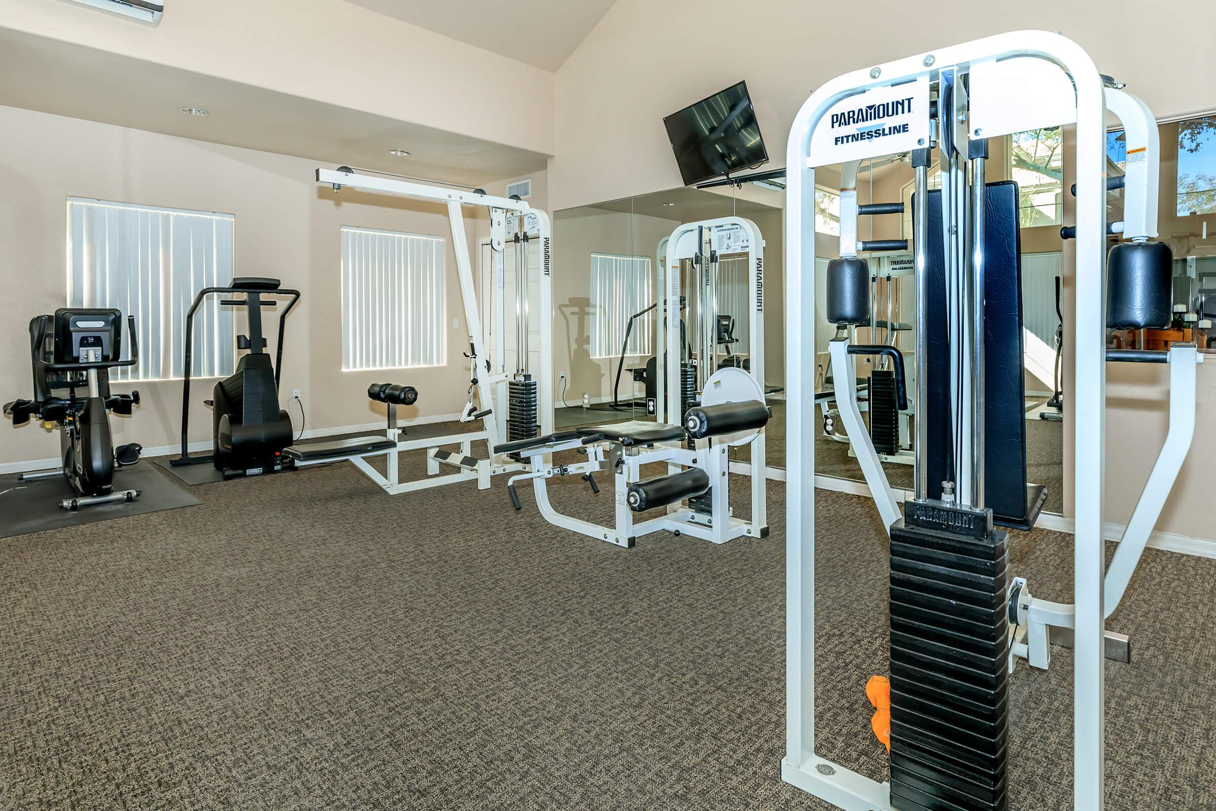 STATE-OF-THE-ART FITNESS CENTER AT THE VILLAGE AT SUN VALLEY