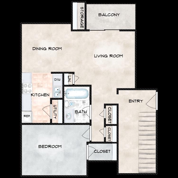 Floor plan image of Jackson