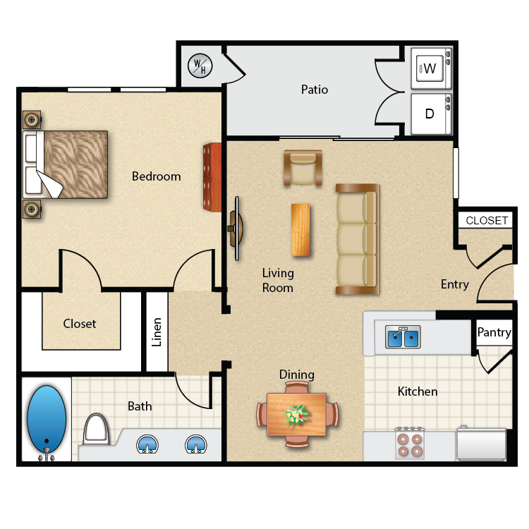 Plan 1 floor plan image