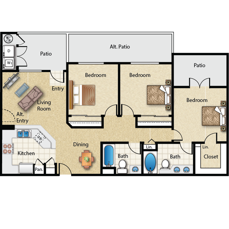 Plan 4 floor plan image