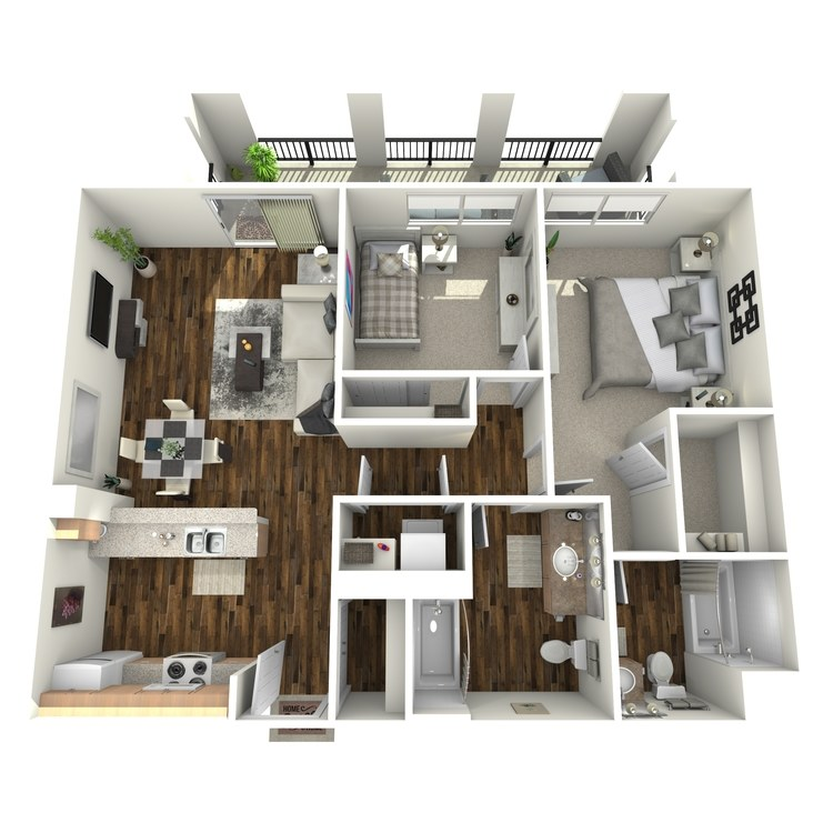 Floor plan image of The Colony