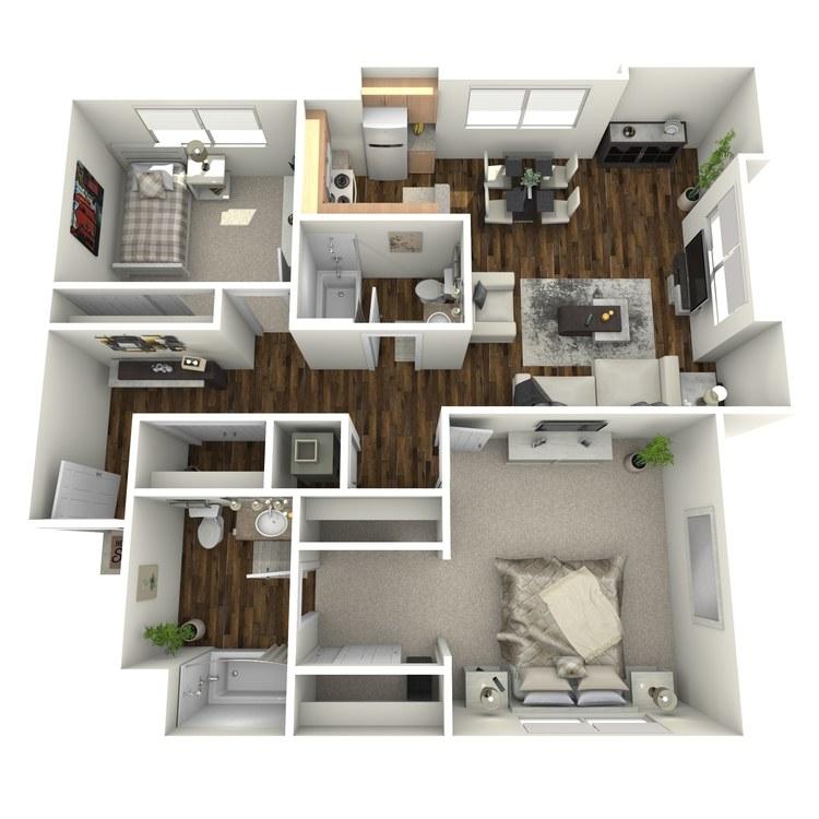Floor plan image of The Meridian