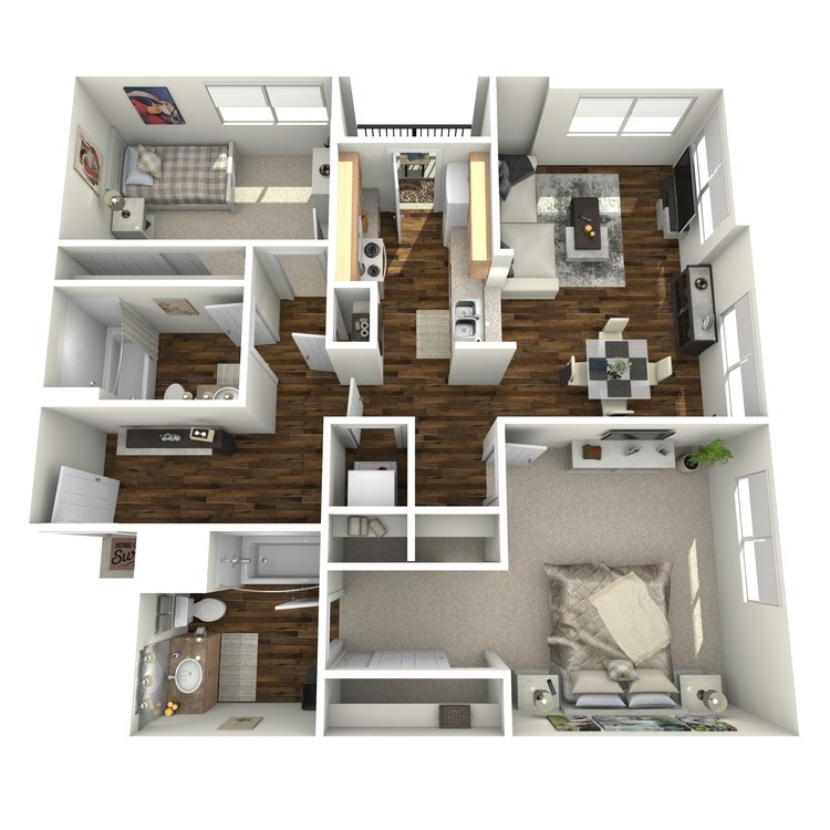 Floor plan image of The Cobblestone