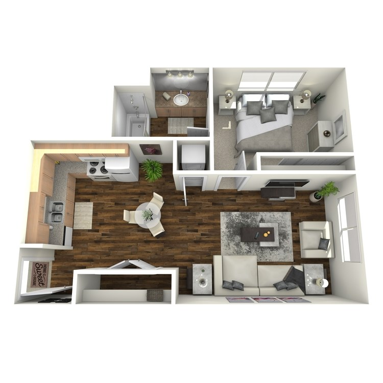 Floor plan image of The Milan
