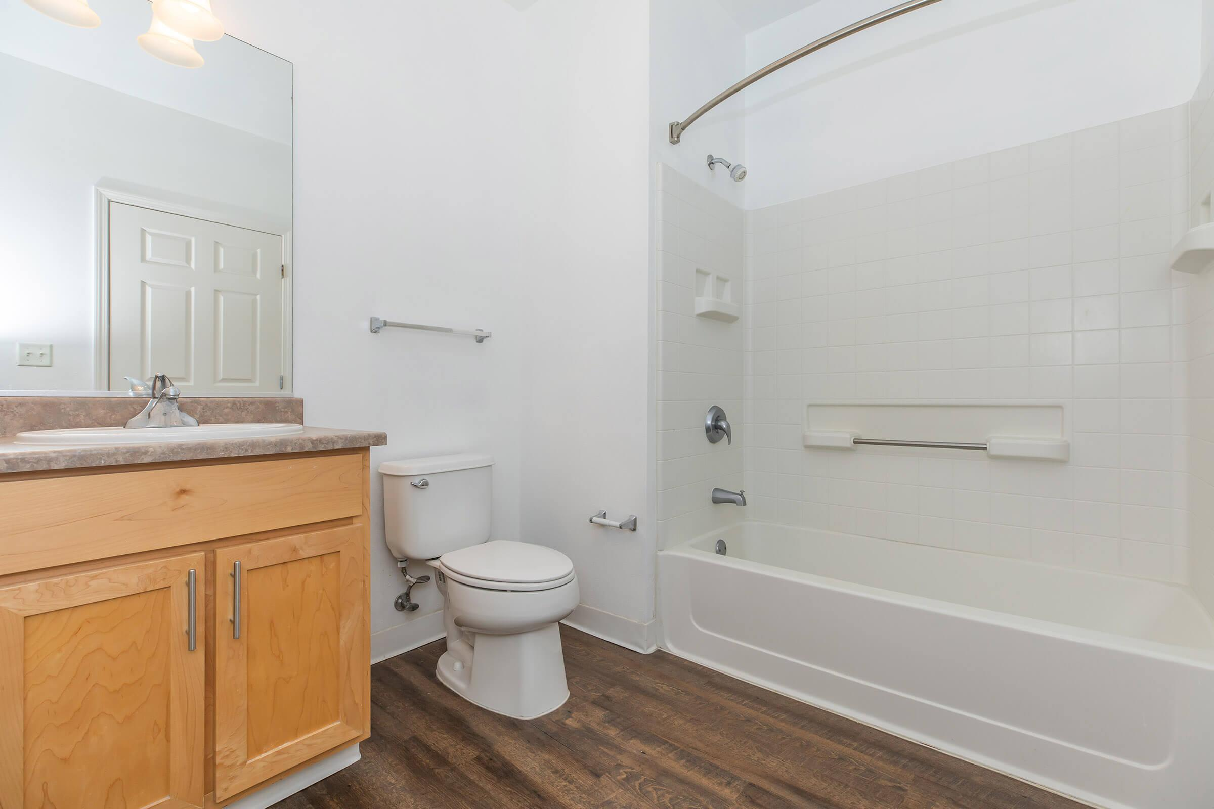 Bathroom at The Village at Town Center in El Cerrito CA