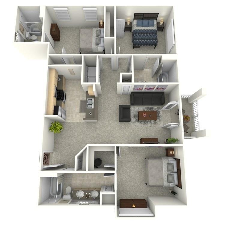 Floor plan image of Cambridge (Elevation)