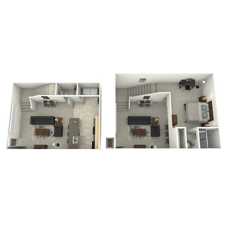Floor plan image of Airlie II (Enclave)