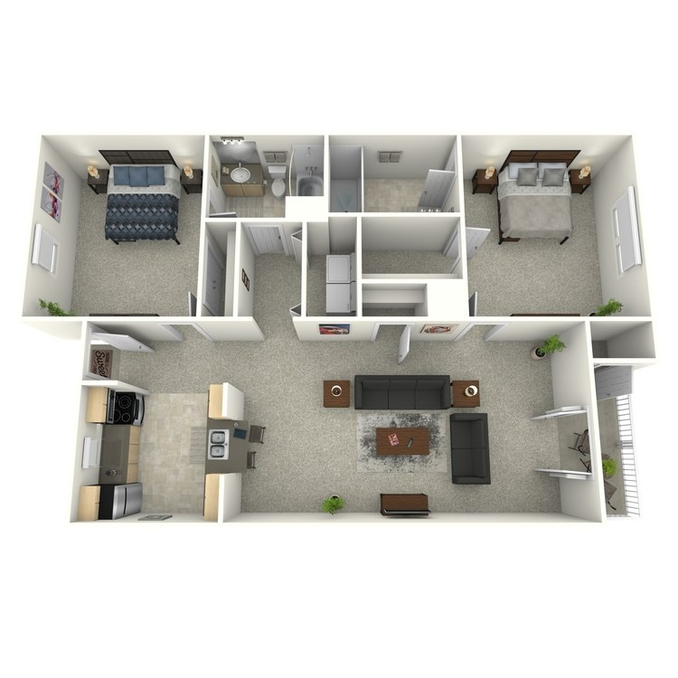 Floor plan image of Burton (Enclave)