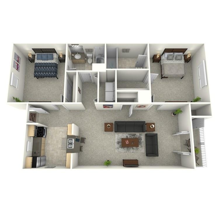 Floor plan image of Burton (Enclave)