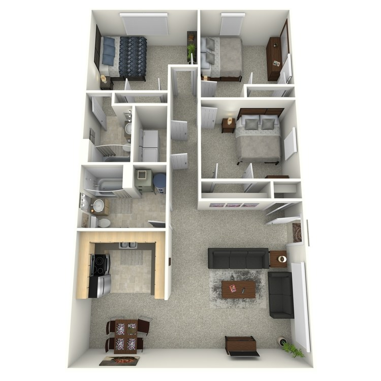 Floor plan image of Cordova (Enclave)
