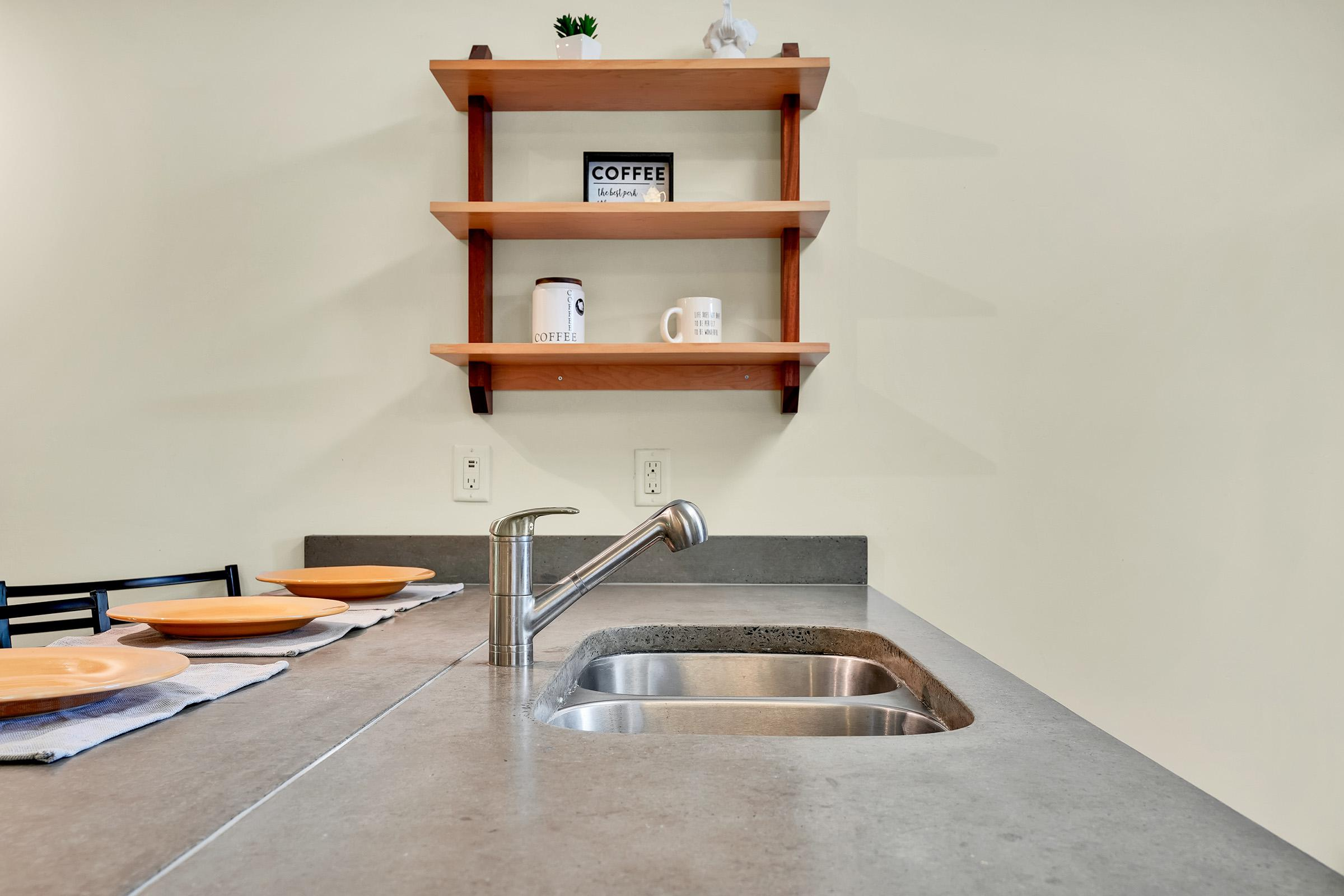 The Burton Offers A Spacious Kitchen At Elevation In Wilmington, NC